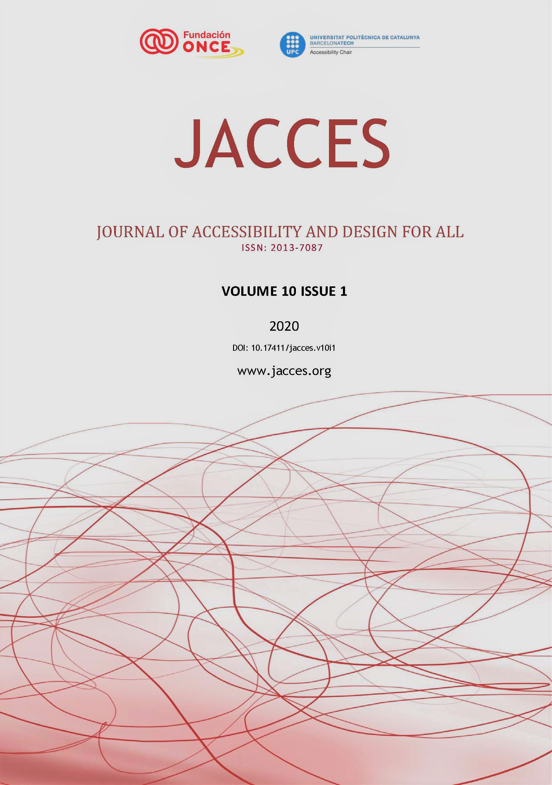 JACCES Volume 10 issue 1 cover